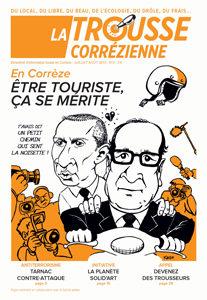 """Une du journal la Trousse Corrézienne numéro 2 """"Être touriste ça se mérite"""""""