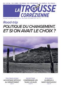 """Une du journal la Trousse Corrézienne numéro 4 """"Politique du changement si on avait le choix ?"""""""
