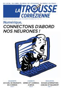 """Une du journal la Trousse Corrézienne numéro 6 """"Connectons d'abord nos neurones !"""""""