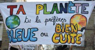 Manisfestation contre le réchauffement climatique à Brive la Gailalrde