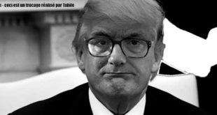 Photomontage de Pacal Coste en Donald Trump